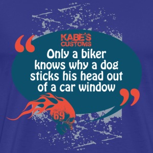 Kabes Biker Dog T-Shirt - Men's Premium T-Shirt