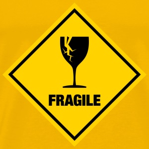fragile - stag night shirt - Men's Premium T-Shirt