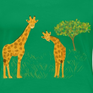 Giraffen in der Savanne - Frauen Premium T-Shirt