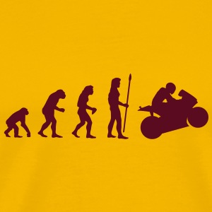 evolution_motorbike1 T-Shirts - Men's Premium T-Shirt
