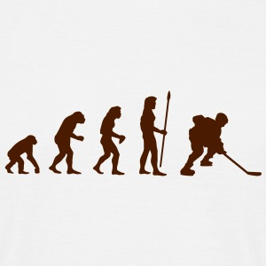 evolution_icehockey1 T-Shirts - Men's T-Shirt