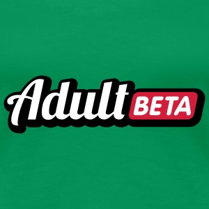 Adult Beta | Puberty T-Shirts - Frauen Premium T-Shirt