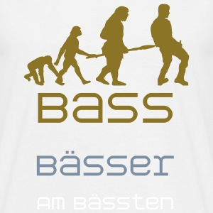 Bass Bässer Am Bässten (Vektor) - Men's T-Shirt