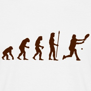 evolution_tennis1 T-Shirts - Männer T-Shirt