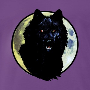 werwolf_brush2 T-Shirts - Männer Premium T-Shirt