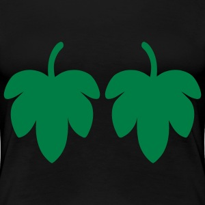 Fig Leaf T-Shirts - Women's Premium T-Shirt