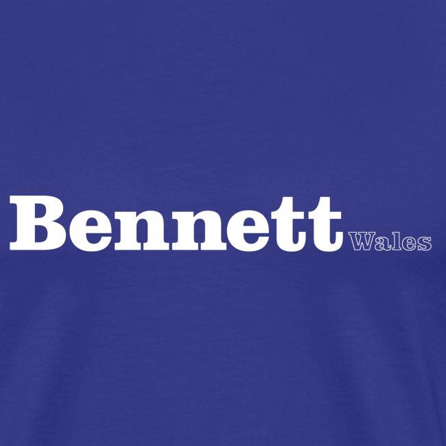 Bennett Wales white text