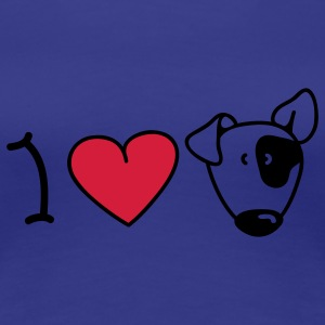 I love dogs T-Shirts - Women's Premium T-Shirt
