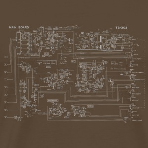 Roland TB-303 Circuit Diagram - Men's Premium T-Shirt