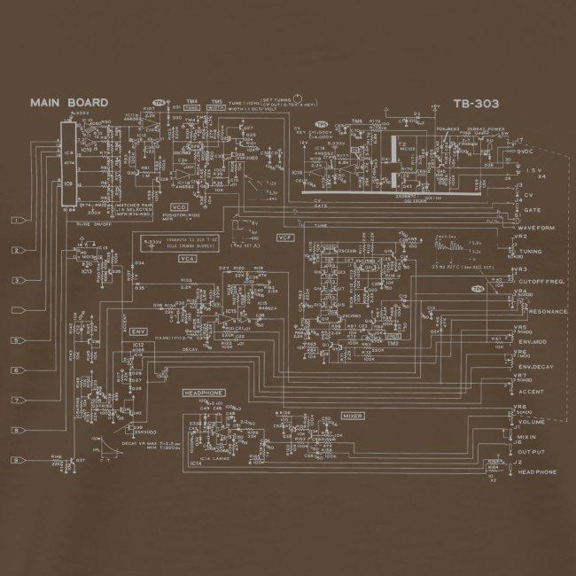 Roland TB-303 Circuit Diagram