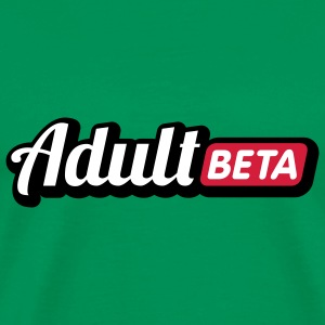 Adult Beta | Puberty T-Shirts - Premium T-skjorte for menn