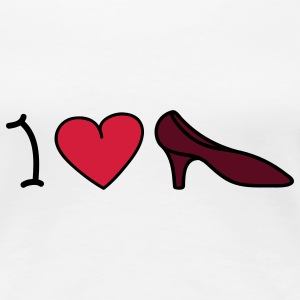 I love shoes Camisetas - Camiseta premium mujer