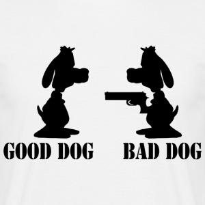 good dog bad dog  - Männer T-Shirt