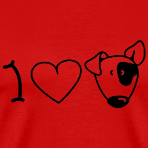 I love dogs T-Shirts - Men's Premium T-Shirt