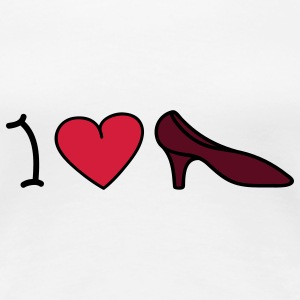 I love shoes T-shirts - T-shirt Premium Femme