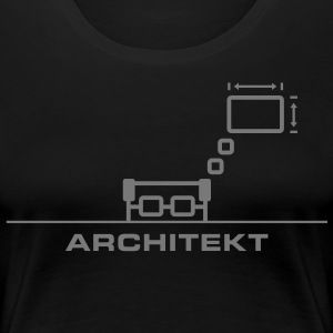 Architekt T-Shirts - Frauen Premium T-Shirt