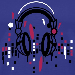 Headphones equalizer T-Shirts - Men's Premium T-Shirt