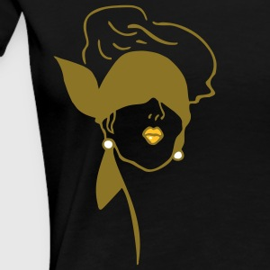 Art Deco Blindfold T-Shirts - Women's Premium T-Shirt