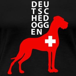 Helvetia Great Dane T-Shirts - Frauen Premium T-Shirt