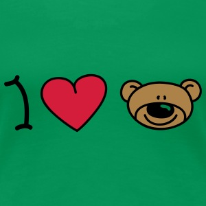I love bears T-Shirts - Women's Premium T-Shirt