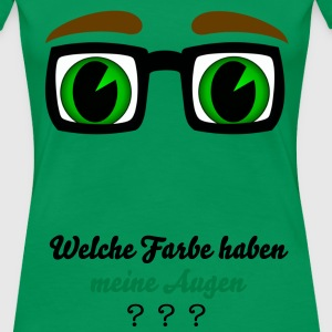 BrilleBigGreen T-Shirts - Frauen Premium T-Shirt