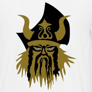 Viking warrior head. - Mannen T-shirt
