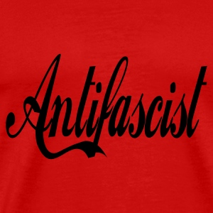 0044 Antifascist Shirt Antifaschist - Männer Premium T-Shirt