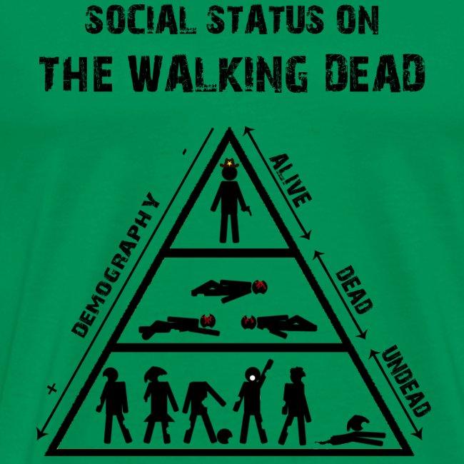 The Walking Dead - social status