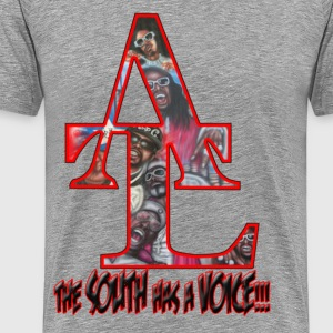the_south_has_a_voice_red T-Shirts - Männer Premium T-Shirt