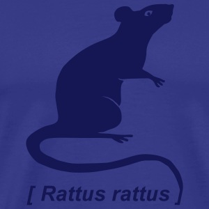 shirt rat rats duo ratty mouse mice animal - Men's Premium T-Shirt