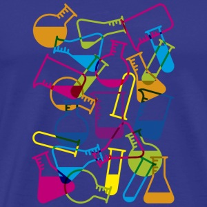Test Tubes & Chemicals Classic Tee - Men's Premium T-Shirt