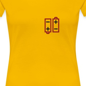 Batteries not included - Frauen Premium T-Shirt
