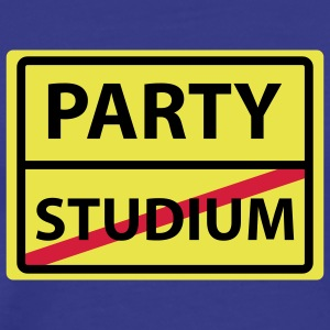 studium party T-Shirts - Männer Premium T-Shirt