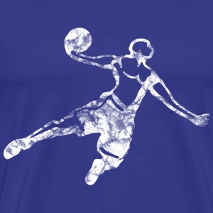 Basketball Dunk (used look) T-Shirts - Männer Premium T-Shirt