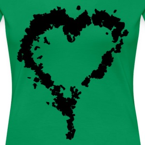 black_heart T-Shirts - Frauen Premium T-Shirt