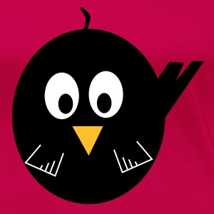 Blackbird pink ladies Tee shirt - Women's Premium T-Shirt