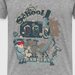 barbers shop  Tee shirts - T-shirt Premium Homme