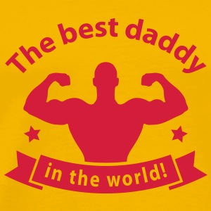 best daddy in the world T-Shirts - Men's Premium T-Shirt