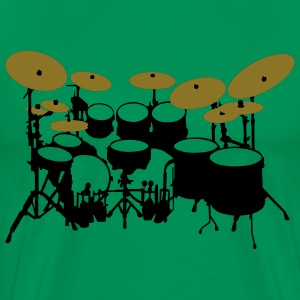 Large drum kit - Men's Premium T-Shirt