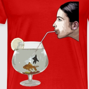 Drink Fish by CustomStyle T-shirts - T-shirt Premium Homme