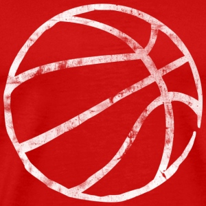 Basketball Raw Lines (used look) T-Shirts - Männer Premium T-Shirt