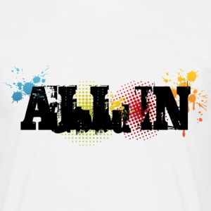All in Graffiti T-Shirt - T-shirt herr