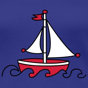 Red Sailboat T-Shirts - Women's Premium T-Shirt