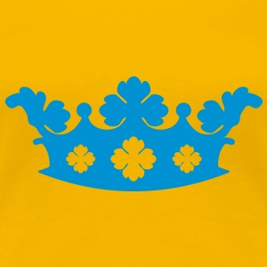Krone, Crown T-Shirt - Premium T-skjorte for kvinner