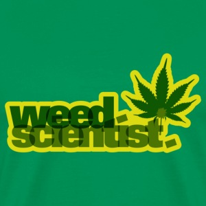 Weed Scientist Tee - Men's Premium T-Shirt