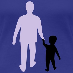 missing father and son T-shirts - T-shirt Premium Femme