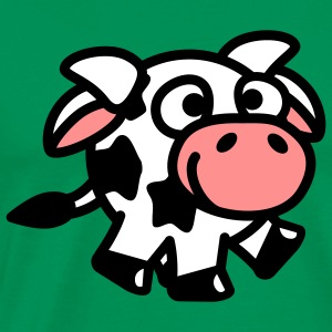 smiley_cow_3c T-Shirts - Männer Premium T-Shirt