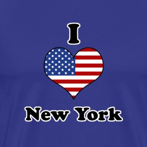 I love New York T-shirt - Maglietta Premium da uomo