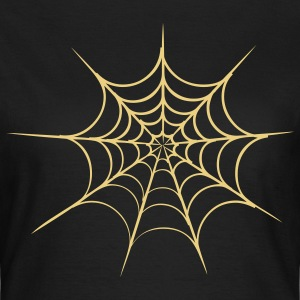 spider web halloween T-Shirts - Frauen T-Shirt