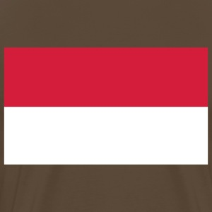 indonesia flag T-Shirts - Men's Premium T-Shirt